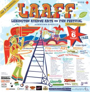 LAAFF Poster Design By Sound Mind Media