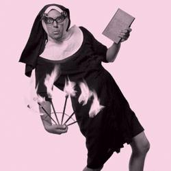 Sister Bad Habit, aka LaZoom Tours' Jim Lauzon. Photo by Michael Traister.