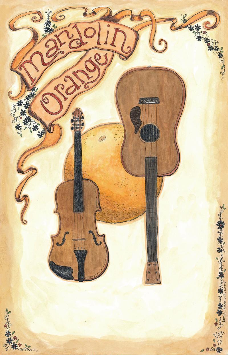 Mandolin Orange Tour Poster