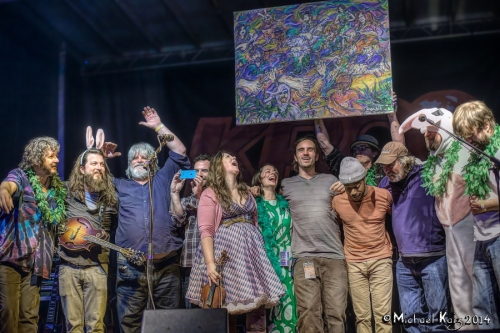 Leftover Salmon and Friends. Photos by Mike Kaiz. See more of his shots at Jambase: http://bit.ly/1jQuxIC