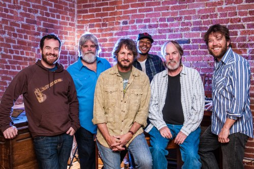 Leftover Salmon with Bill Payne of Little Feat. Photo by Tobin Voggesser.