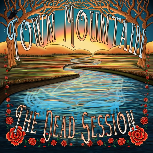 Town Mountain: The Dead Session Artwork by Taylor Swope